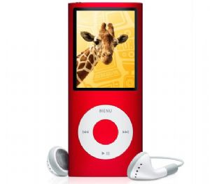 Apple iPod Nano 5th Generation Digital MP3 Player / Radio Red 8GB Refurbished